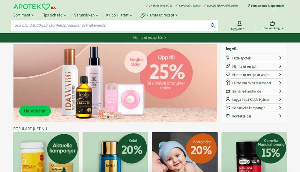 Online butik apotek hjärtat