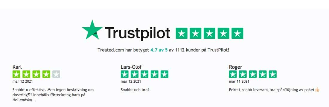 treated hos trustpilot