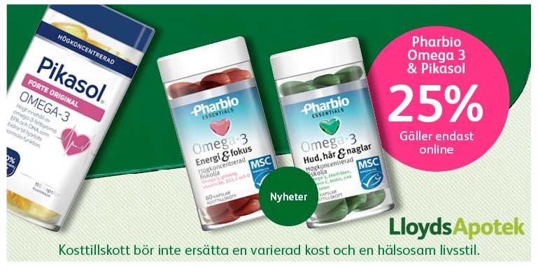 vitaminer och mineraler hos lloyds apotek